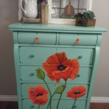 Painted Old Furniture 12 214x214 - Phenomenal Painted Old Furniture Ideas
