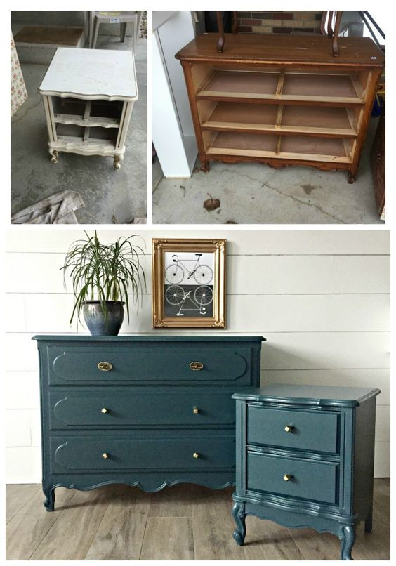 Painted Old Furniture 15 - Phenomenal Painted Old Furniture Ideas