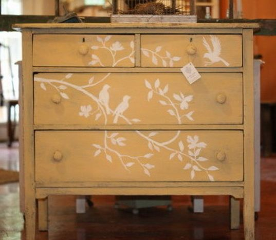 Painted Old Furniture 20 - Phenomenal Painted Old Furniture Ideas