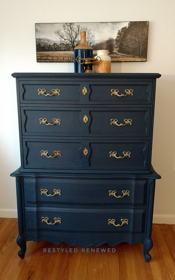 Painted Old Furniture 26 - Phenomenal Painted Old Furniture Ideas