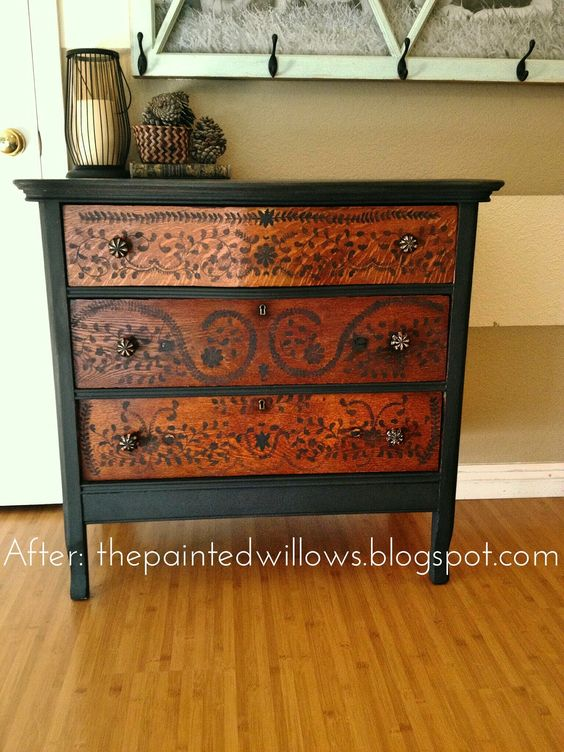 Painted Old Furniture 34 - Phenomenal Painted Old Furniture Ideas