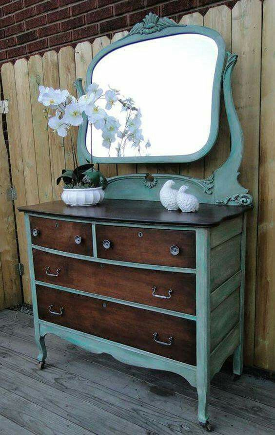 Painted Old Furniture 41 - Phenomenal Painted Old Furniture Ideas