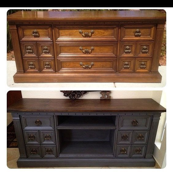 Painted Old Furniture 7 - Phenomenal Painted Old Furniture Ideas