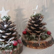 Pine Cone Projects 1 214x214 - 44+ Simple DIY Pine Cone Projects Ideas