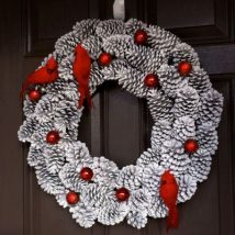 Pine Cone Projects 10 214x214 - 44+ Simple DIY Pine Cone Projects Ideas