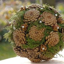 Pine Cone Projects 14 214x214 - 44+ Simple DIY Pine Cone Projects Ideas