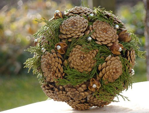 Pine Cone Projects 14 - 44+ Simple DIY Pine Cone Projects Ideas