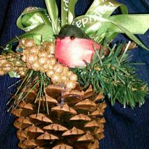 Pine Cone Projects 15 214x214 - 44+ Simple DIY Pine Cone Projects Ideas