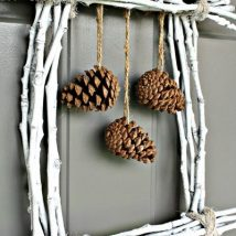 Pine Cone Projects 18 214x214 - 44+ Simple DIY Pine Cone Projects Ideas