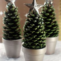 Pine Cone Projects 19 214x214 - 44+ Simple DIY Pine Cone Projects Ideas