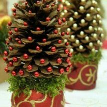 Pine Cone Projects 24 214x214 - 44+ Simple DIY Pine Cone Projects Ideas