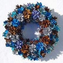 Pine Cone Projects 25 214x214 - 44+ Simple DIY Pine Cone Projects Ideas