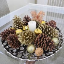 Pine Cone Projects 27 214x214 - 44+ Simple DIY Pine Cone Projects Ideas