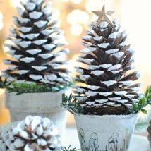 44+ Simple DIY Pine Cone Projects Ideas