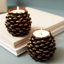 Pine Cone Projects 34 214x214 - 44+ Simple DIY Pine Cone Projects Ideas
