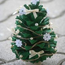 Pine Cone Projects 35 214x214 - 44+ Simple DIY Pine Cone Projects Ideas