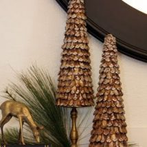 Pine Cone Projects 36 214x214 - 44+ Simple DIY Pine Cone Projects Ideas