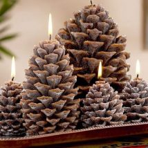 Pine Cone Projects 39 214x214 - 44+ Simple DIY Pine Cone Projects Ideas