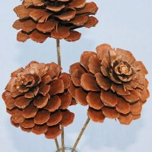 Pine Cone Projects 43 214x214 - 44+ Simple DIY Pine Cone Projects Ideas