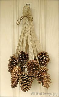 Pine Cone Projects 45 - 44+ Simple DIY Pine Cone Projects Ideas