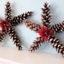 Pine Cone Projects 46 214x214 - 44+ Simple DIY Pine Cone Projects Ideas