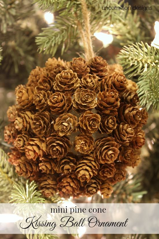 Pine Cone Projects 47 - 44+ Simple DIY Pine Cone Projects Ideas