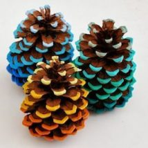 Pine Cone Projects 50 214x214 - 44+ Simple DIY Pine Cone Projects Ideas