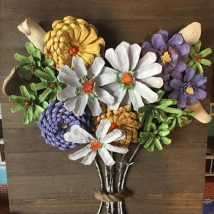 Pine Cone Projects 9 214x214 - 44+ Simple DIY Pine Cone Projects Ideas