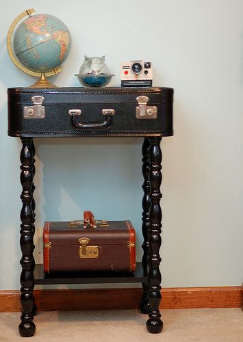 Resuse Old Luggage 11 - Breathtaking Reuse Old Luggage