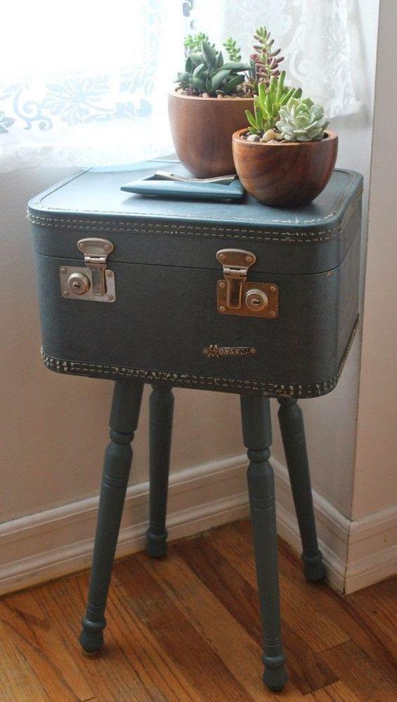 Resuse Old Luggage 15 - Breathtaking Reuse Old Luggage