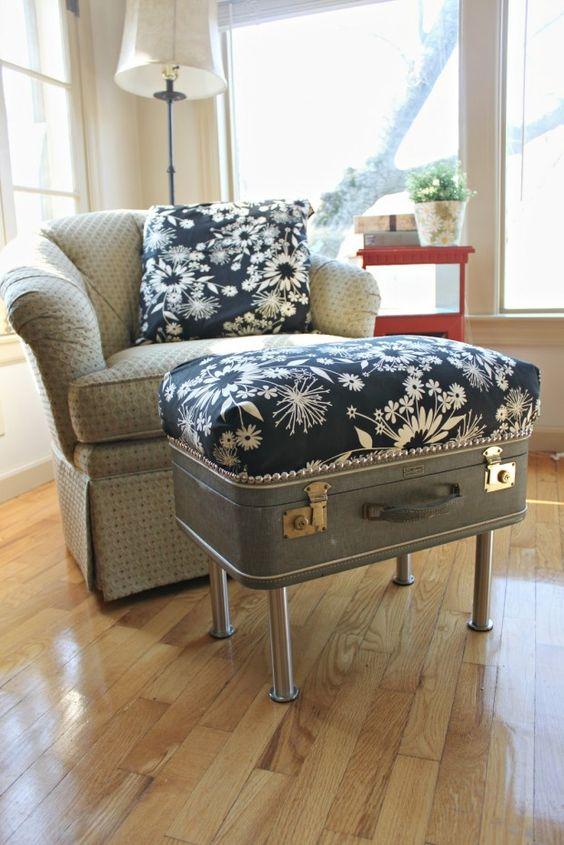 Resuse Old Luggage 3 - Breathtaking Reuse Old Luggage