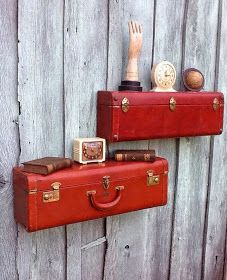 Resuse Old Luggage 34 - Breathtaking Reuse Old Luggage