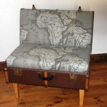 Breathtaking Reuse Old Luggage