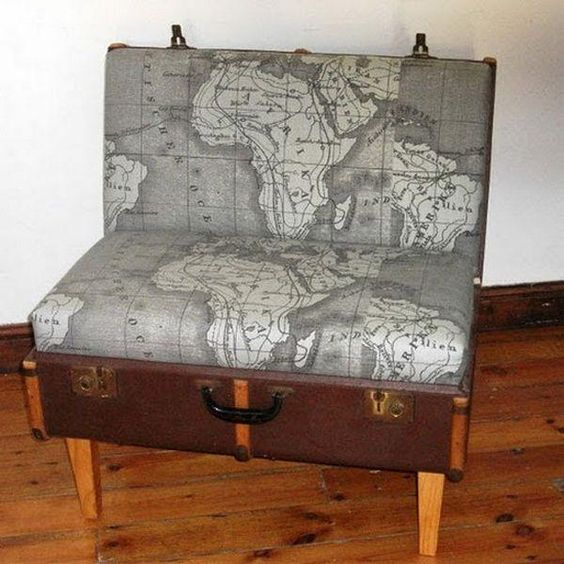 Resuse Old Luggage 4 - Breathtaking Reuse Old Luggage