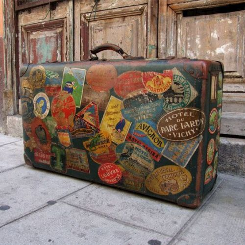 Resuse Old Luggage 6 - Breathtaking Reuse Old Luggage